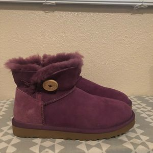 Ugg button Booties